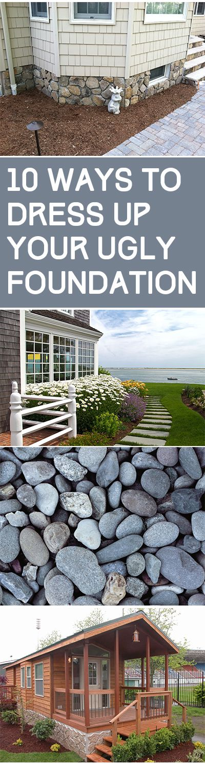 25 best cheap landscaping ideas on pinterest yard sale for Cheapest house foundation