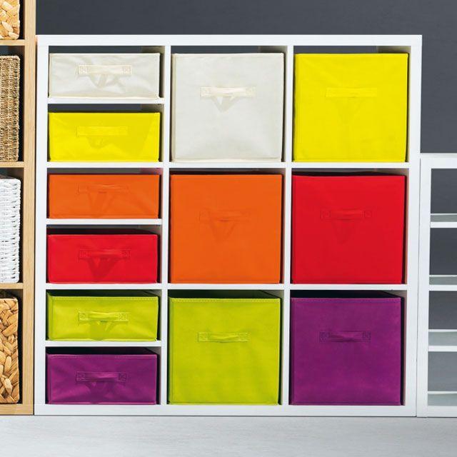 panier de rangement carr intiss vert mixxit castorama a acheter pinterest violettes. Black Bedroom Furniture Sets. Home Design Ideas