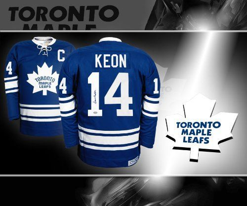 Dave David Keon Toronto Maple Leafs Autographed Jersey by sportauthentix. $375.00. This is an official licensed Dave David Keon Toronto Maple Leafs Autographed Jersey. The jersey is brand new from CCM with all of the lettering and numbering professionally sewn on. To protect your investment, a Certificate Of Authenticity and tamper evident hologram from sportauthentix is included with your purchase. This is a stock photo. Please not that the autograph may be i...