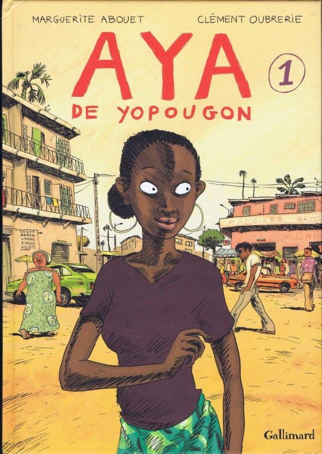 Couverture de Aya de Yopougon -1- Volume 1