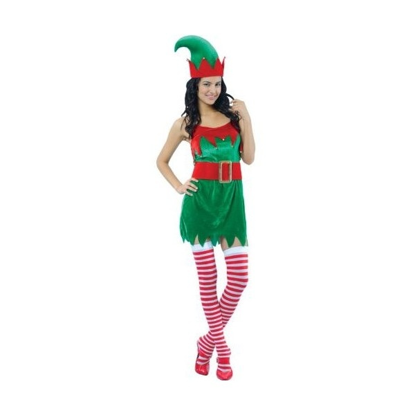 LADIES SEXY ENCHANTING ELF CHRISTMAS FANCY DRESS COSTUME XMAS DRESS... ($28) ❤ liked on Polyvore