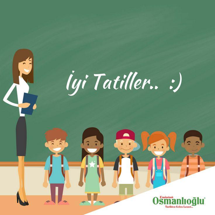 Uzun ve yorucu bir eğitim döneminin ardından tüm öğretmen ve öğrencilerimize iyi tatiller dileriz.