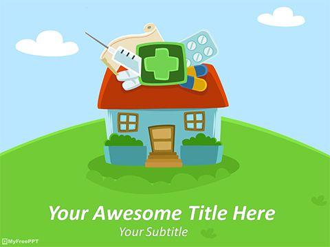 11 best rana salahuddin images on pinterest business card design free nursing home powerpoint template toneelgroepblik Choice Image
