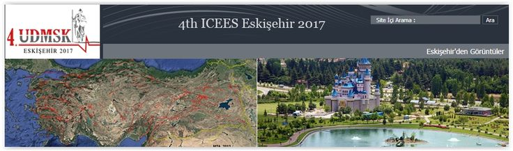 #geocongress 4th ICEES — 4rd International Conference on Earthquake Engineering and Seismology. Eskişehir, Turkey. 11 Oct 2017 - 13 Oct 2017.  As one of the main threats of life and property safety, earthquakes constitute one of the most important issues for Turkey. Earthquake hazard is a significant concern in major part of the country. Principal aim of the 4rd International Conference on Earthquake