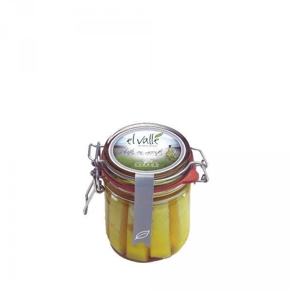 Tarro queso mezcla curado en aceite El Valle 240 gr.