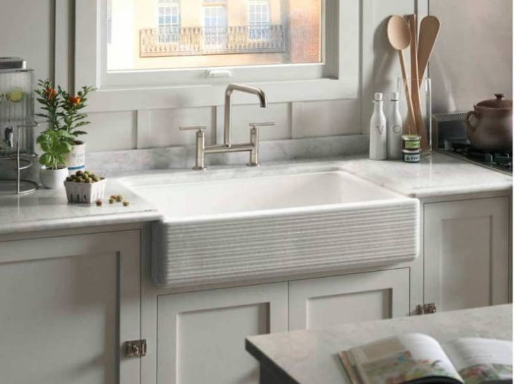 Kitchen Sink Options #22: 1000+ Ideas About Best Kitchen Sinks On Pinterest | Pot Filler Faucet, Painting Laminate Countertops And Best Kitchen Faucets