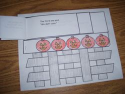 Five Little Pumpkins Sitting on the Gate Emergent Reader from Making Learning Fun.