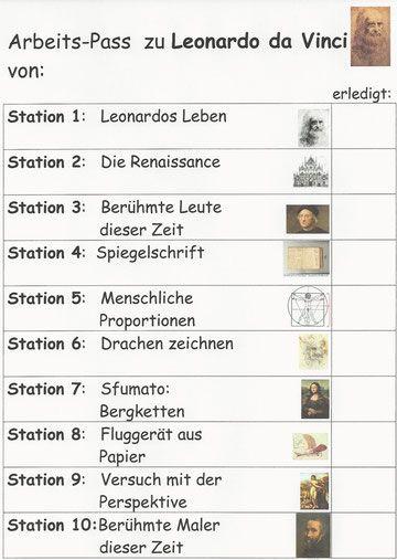 das lernen an stationen ist eine offene form des unterrichts im kunstunterricht steht das praktische arbeiten im vordergrund - Albrecht Drer Lebenslauf