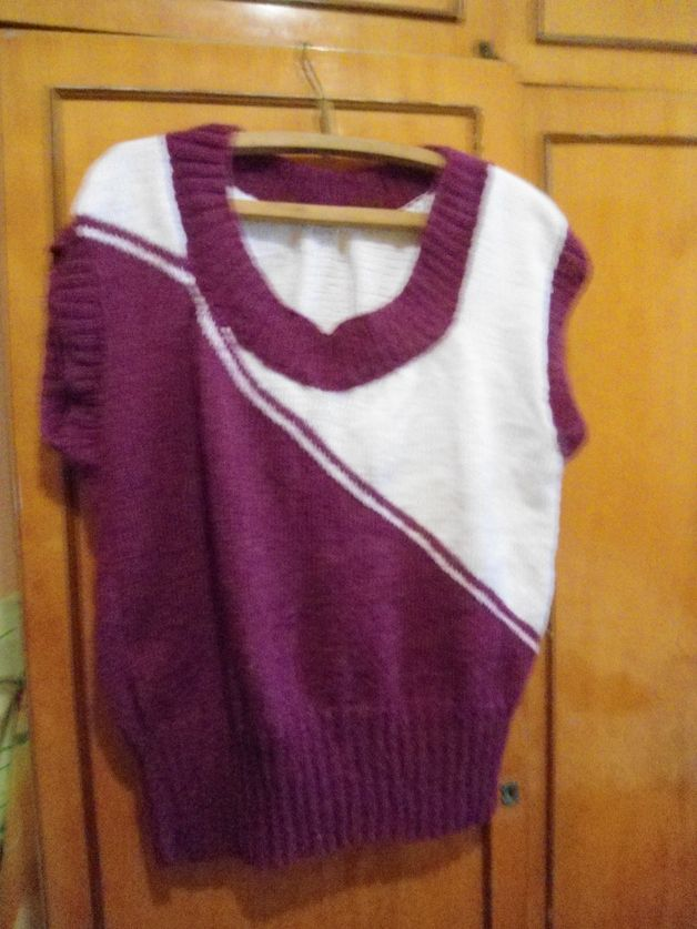 Other – Women's knit sleeveless. Hand-knitted Handmade. – a unique product by stels5555 on DaWanda