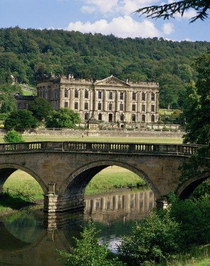 Chatsworth estate - Derbyshire - England
