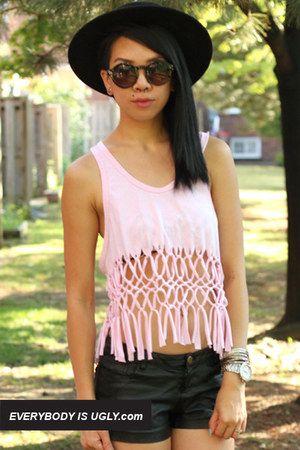 Light-pink-macrame-top