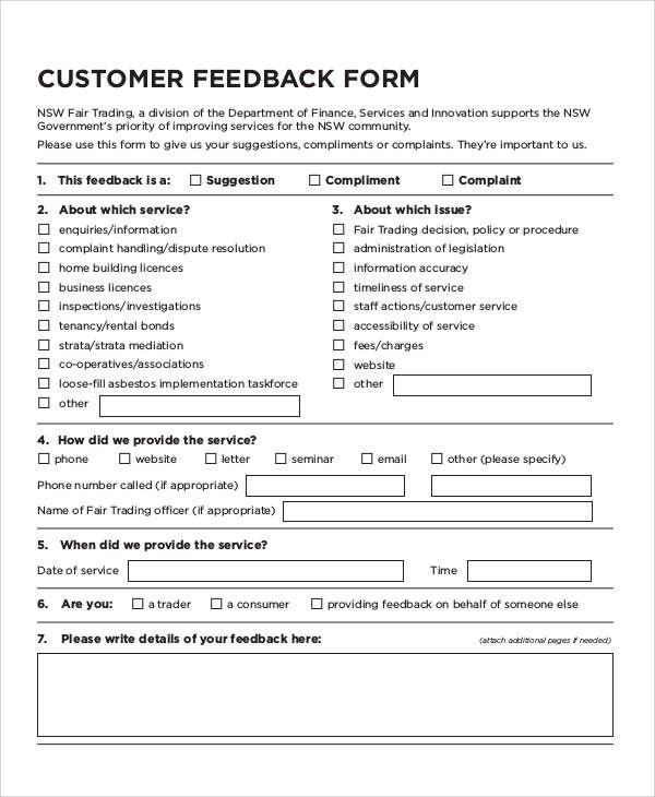 Customer Feedback Form Templates 13 Free Xlsx Docs Pdf Sam Customer Satisfaction Survey Template Customer Feedback Customer Satisfaction Survey Questions