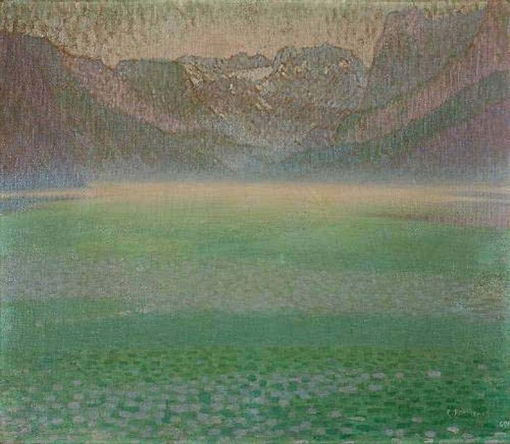 Constantine Parthenis-Lake with mist