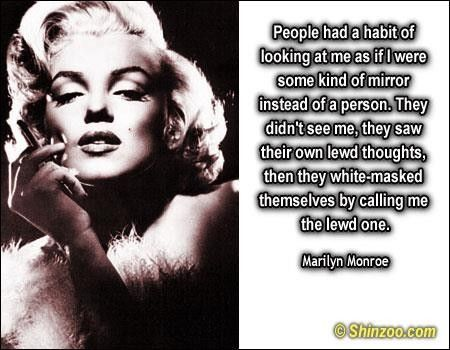 Marilyn Monroe Quotes - Collection Of Inspiring Quotes, Sayings, Images | WordsOnImages