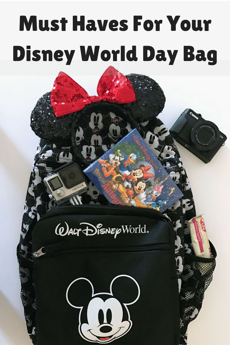 Must Haves For Your Disney World Day Bag, Disney World Packing Tips, #DisneySMMC