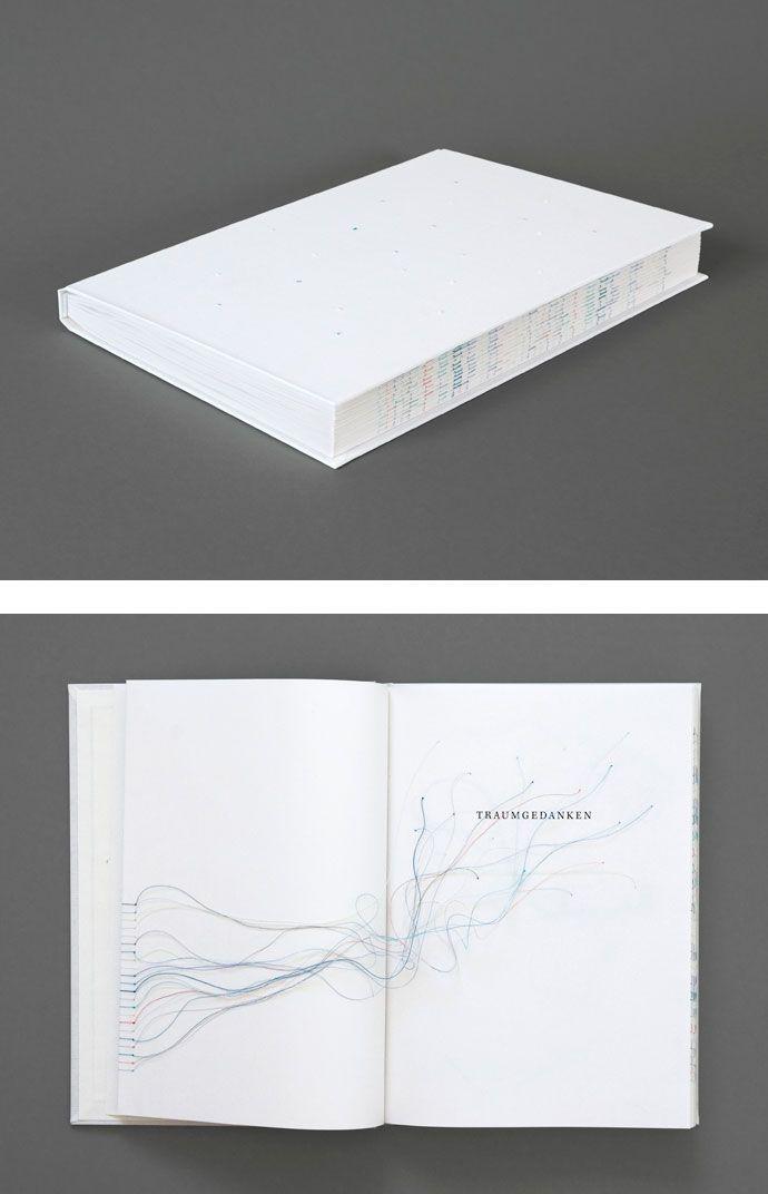 Traumgedanken (2010), inclui uma coleção de textos literários, filosóficos, psicológicos e científicos que dão perspectivas diferentes sobre os sonhos. Os fios são usados nas páginas do livro para ligar as palavras chave e assim obter referências cruzadas sobre os significados, a fragilidade e a confusão dos sonhos.