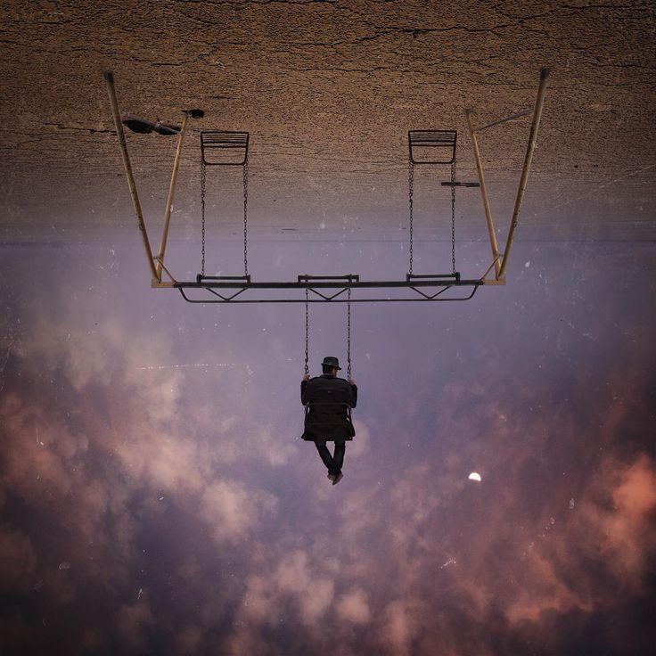 hossein zare photography : swing sky.
