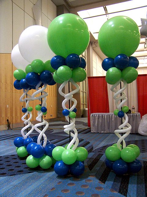 Total event balloon decorations