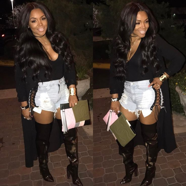 "54.3k Likes, 338 Comments - Rasheeda (@rasheedadabosschick) on Instagram: ""Fun night in Birmingham..... dressed in PRESSEDATL.COM from head to toe @pressedatl ....clutch…"""