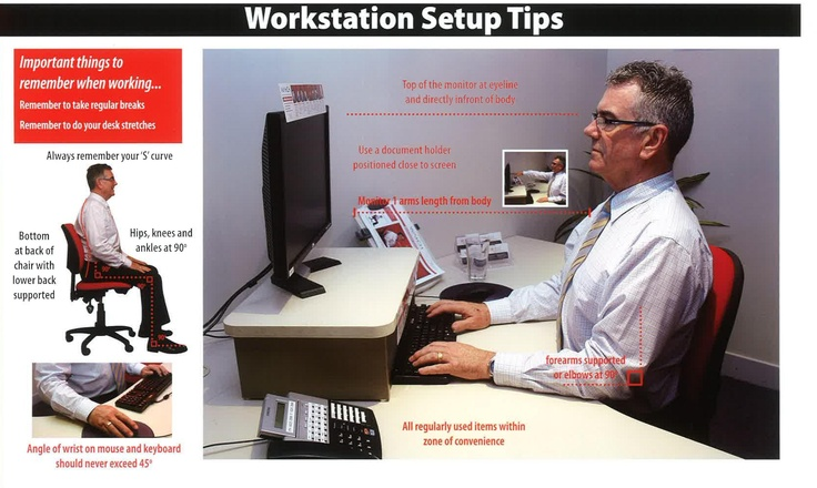 work station set up tips