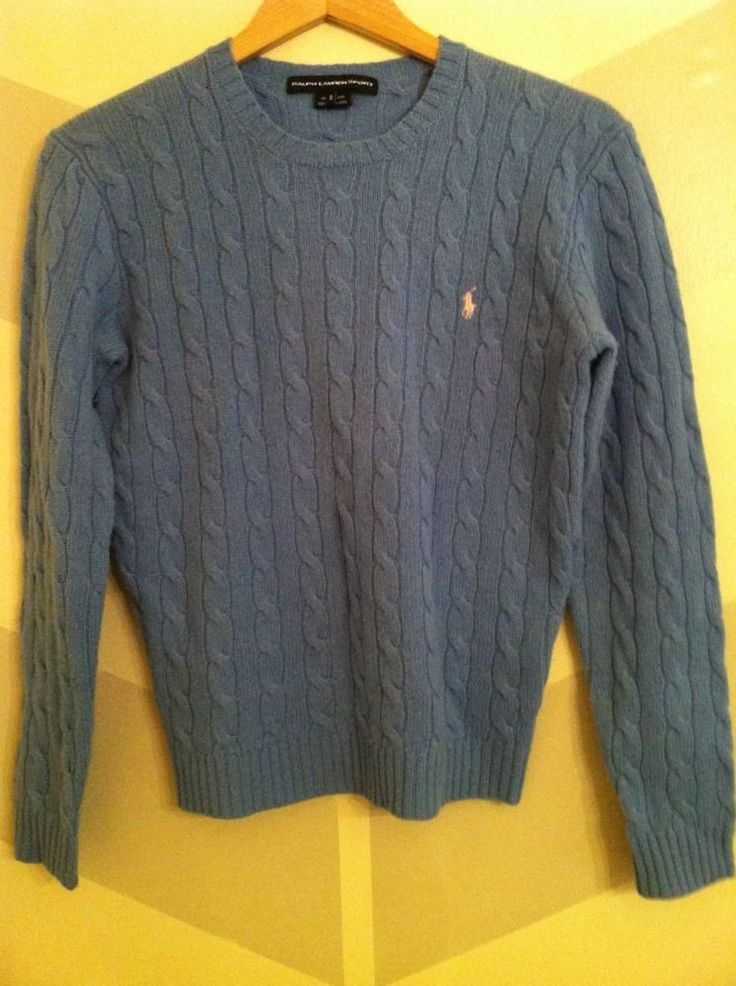 polo ralph lauren cable knit jumper hunter navy polo big pony tote bag