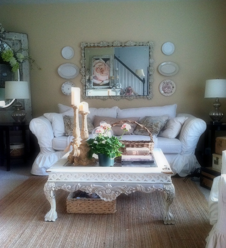 9 Shabby Chic Living Room Ideas To Steal: 28 Best Old Ochre Chalk Paint® Projects Images On