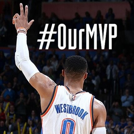 "15.8k Likes, 330 Comments - Oklahoma City Thunder (@okcthunder) on Instagram: ""#0urMVP"""