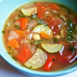 Quinoa and Vegetable Soup Allrecipes.com