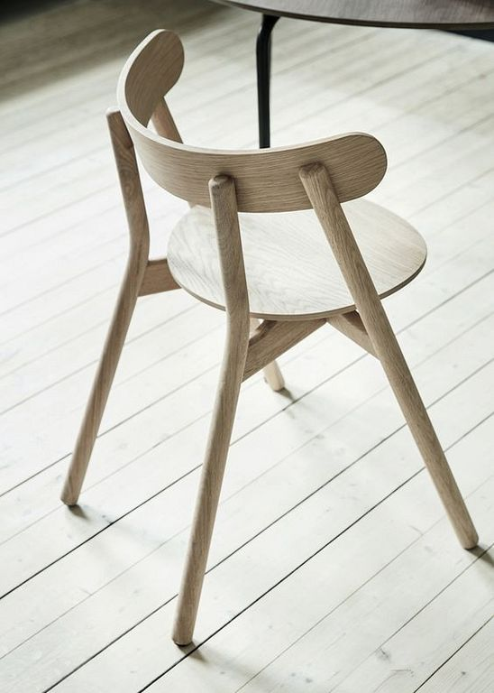 20 modern minimalist small oak wood chair design ideas others rh pinterest ch