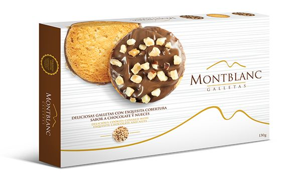MONTBLANC GALLETAS on Packaging Design Served