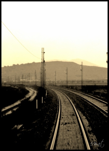 © S.M.art - Train photo clicks.. A journey through time and old lands! (limited edition prints)