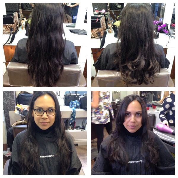 Maintenance haircut today with a wavy blow dry to finish off the look   20/04/15