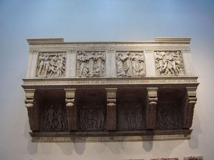 Cantoria di luca della robbia - Luca della Robbia – Wikipedia, wolna encyklopedia