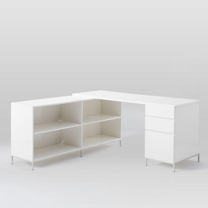 Лак для хранения стол набор - коробка файл + Книжная полка