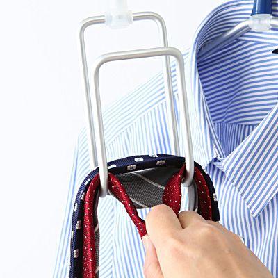 アルミハンガー・ネクタイ/スカーフ用 約幅7×高さ23.5×奥行5cm   無印良品ネットストア