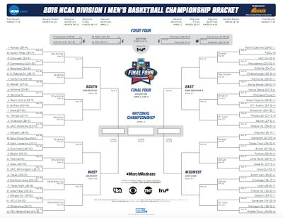 NCAA March Madness​ Official Printable Bracket is live, click here to download your printable March Madness bracket. Via March-Madness.US​ > http://www.march-madness.us/2016/03/march-madness-2016-printable-bracket.html