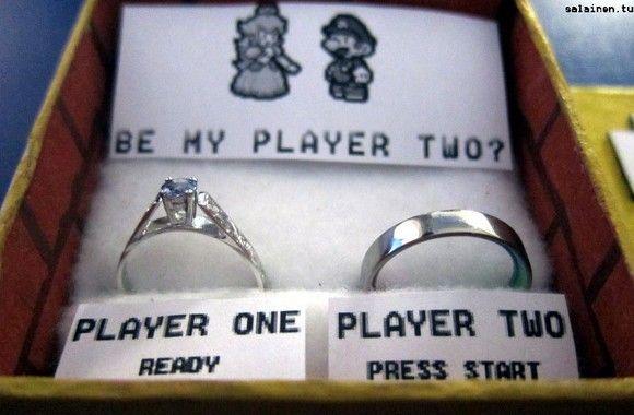 demandes en mariage geek