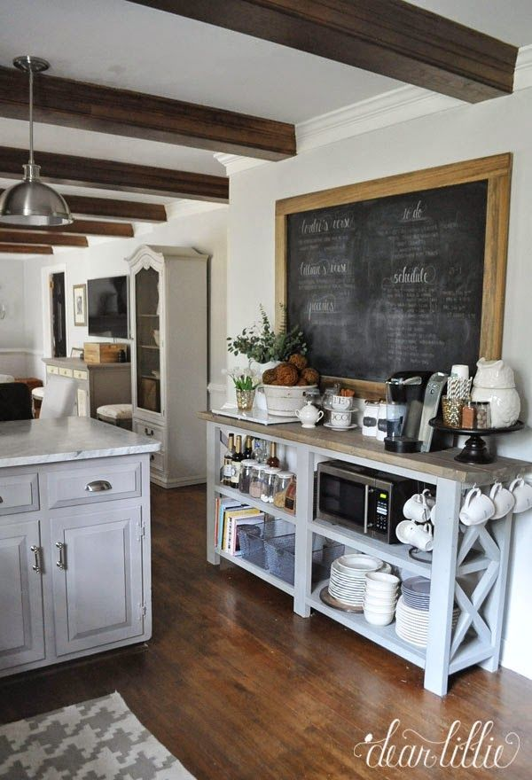 The Finishing Touches on Our Kitchen Makeover (Before and Afters)   Dear Lillie   Bloglovin'