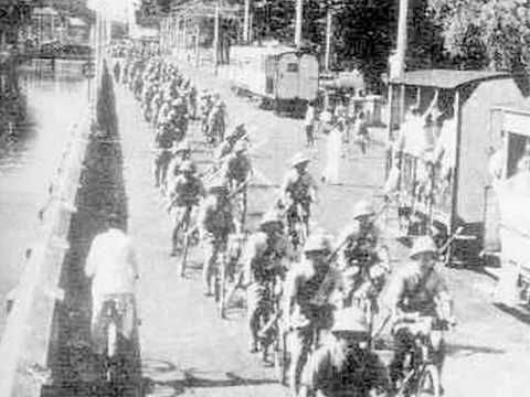 The Fall of Java Island, March 1942 Dutch East Indies