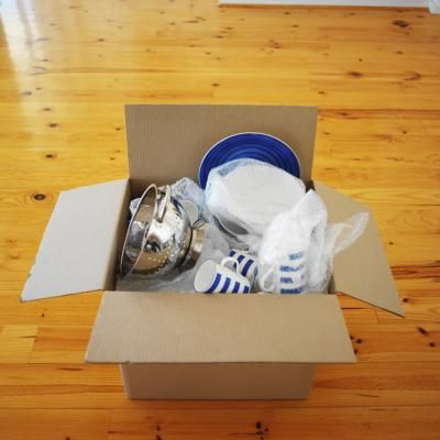 how to pack lamps for movers