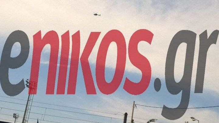 Το ελικόπτερο της ΕΛΑΣ πάνω από Παλαιό Φάληρο και Άλιμο  ΦΩΤΟ