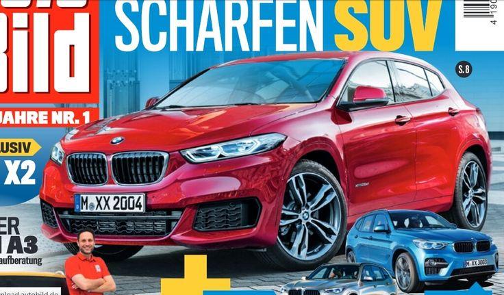 Свежие новости о БМВ Х2 2017 пополнились серией рендеринговых фотографий компактного кроссовера. Фото рендеринг BMW X2 2017 - работа автомобильных журналов.