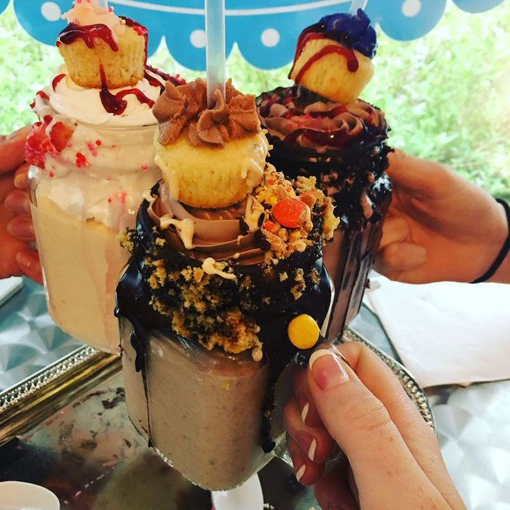 New Freak Shakes at Viva La Cupcake in Roanoke | Virginia's Blue Ridge