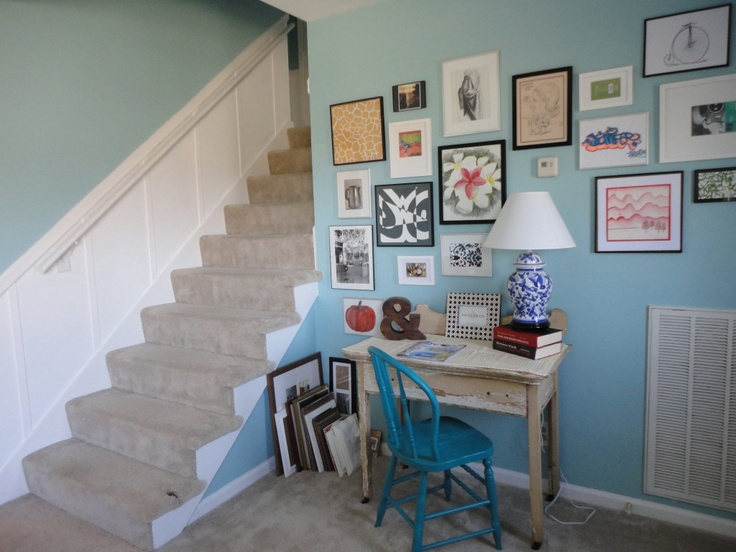 Love the collage of pictures.: Houses Updates, Favorite Colors, Frames, Houses Ideas, Pictures, Bonus Rooms