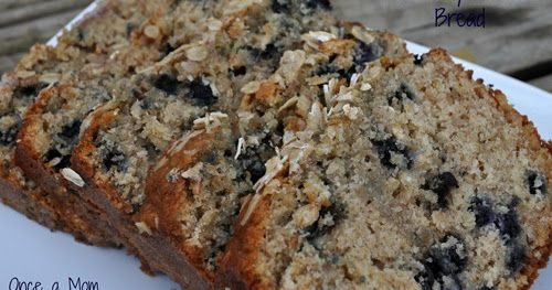 This recipe has moved to Cherishedbliss.com, click here for the full recipe! Blueberry Oatmeal Bread