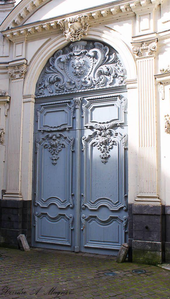 Elaborate entrance - L'Abbaye Saint-Vaast, Arras, France