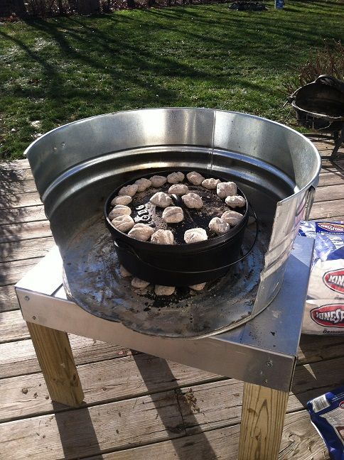 how to cook pizza on a camp stove
