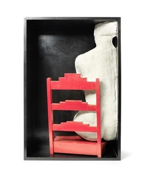 Girl on a Chair By George Segal ,1970