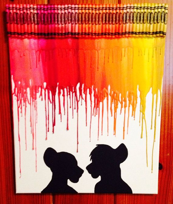 Image result for disney crayon art