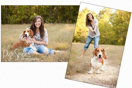 senior pet session   Maddie (Senior Atascocita High school)